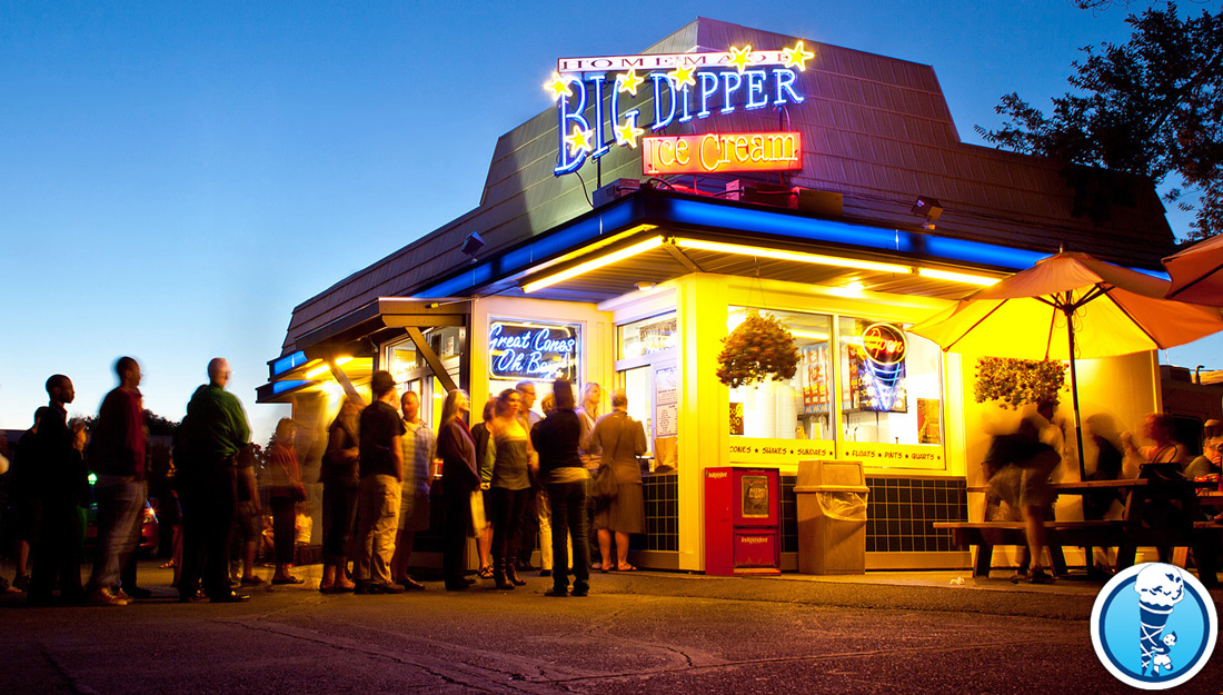 How Startups Can Be Like SMBs - Big Dipper Ice Cream, Missoula, MT